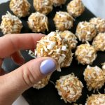 Carrot Cake Bites (No-bake, 6 Ingredients!)