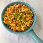 Veggie Barley Stew (Only 8 Ingredients!)