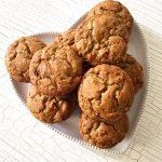 Banana Walnut Muffins (Sugar-free, Gluten-free)