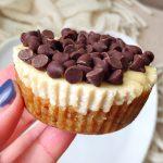 Chocolate Chip Cheesecake Bites (No-bake, Dairy-free)