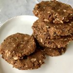 Chocolate Coconut Cookies (Grain-free & Vegan)