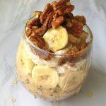 Banana Cream Overnight Oats (Dairy-free)