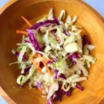 How to Make Healthy Cole Slaw (Only 7 Ingredients!)
