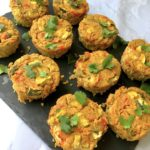 Chickpea Flour Frittata Muffins (Vegan)