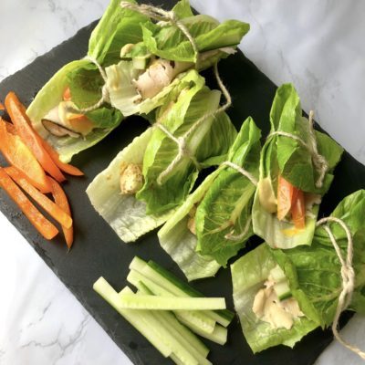 Healthy Lettuce Wraps To-Go (Simple & Easy)