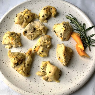 Citrus Rosemary Chicken (Oil-Free and Only 4 Main Ingredients!)