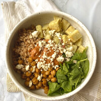 How To Build the Perfect Nourish Bowl (Healthy & Balanced)