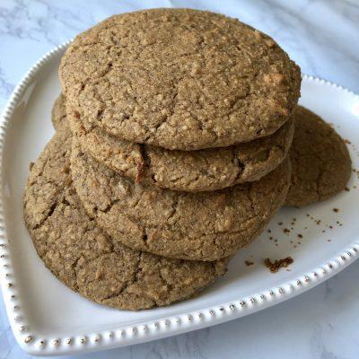 Sweet Vanilla BEAN Cookies (Gluten-free and Vegan)