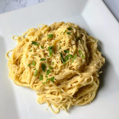 How to Make Healthy Alfredo Pasta (Dairy-free)