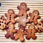 Crispy Gingerbread Cookies (Grain-free & Vegan)