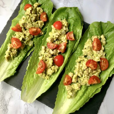 How to Make Healthy Chicken Salad (7 Ingredients!)