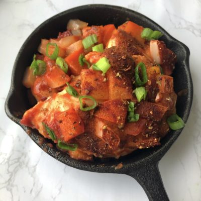 Portuguese-style Chicken (Less than 10 Ingredients!)