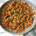 Ground Turkey and Veggie Mix (For Healthy Tacos and More!)