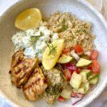 Greek-Style Marinated Turkey (Few Ingredients!)